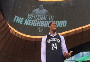 Former Wildcat Hollis-Jefferson introduced as Brooklyn Net