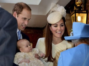 Photos: Christening of Britain's Prince George