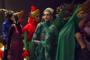 Photos: Exotic Islamic Fashion Show
