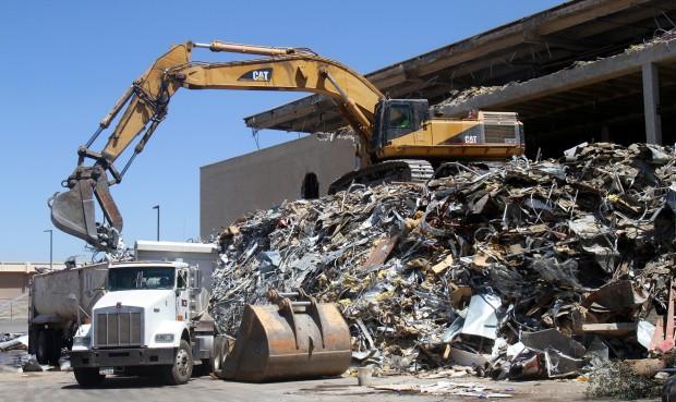El Con Building Demolished