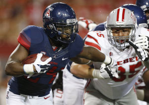 UA's Jones-Grigsby embraces starting job, spotlight