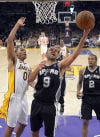 NBA Playoffs: Spurs 103, Lakers 82: Low-water mark