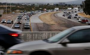 Who has the longest commute in Arizona?