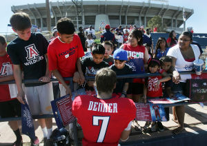 Photos: UA football spring game