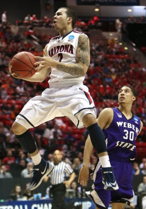 Photos: Arizona vs. Weber State in NCAA Tournament