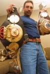 Boxer claimed two world-championship belts