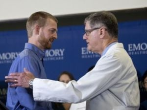 Atlanta hospital releases 2 missionaries who had ebola