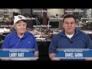 Daniel Gaona interviews Flowing Wells coach Larry Hart