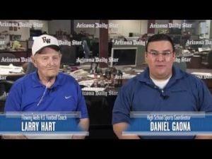 Daniel Gaona interviews Flowing Wells coach Larry Hart