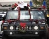 Hummers become Santa's sleighs
