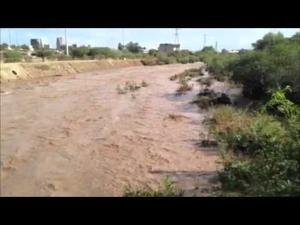 Santa Cruz River flow makes it to Speedway