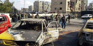 IS car bomb in Syrian capital kills 10