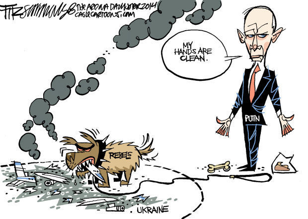 Daily Fitz Cartoon:Ukraine