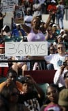 Trayvon Martin rally draws thousands