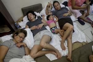 Baja California aislada por huracán Odile
