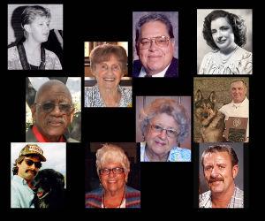 In memoriam: Funeral notice photos, August 2014