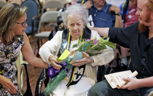 Tucson centenarian plus charter school equals synergy