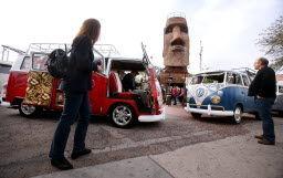 Vintage VW Bus Show