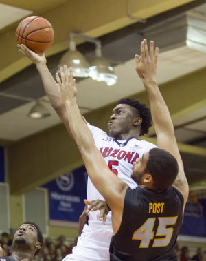 No. 3 Arizona beats Missouri 72-53 in Maui Invitational