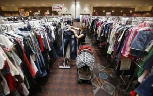 Children's consignment sale started today