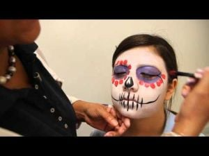 How to paint your face for the All Souls Procession