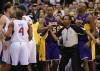 Feisty Clippers push back Lakers as rivalry takes off