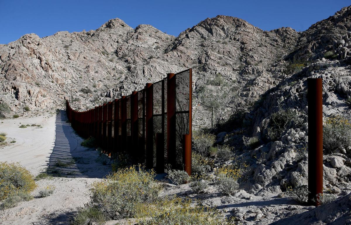 Tim Steller Senseless Border Fences Stand In Southwestern Arizona - Map of us border fence
