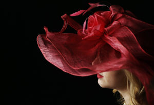 Photos: Fancy hats in abundance at the Derby