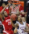 No. 1 Kansas 72, No. 16 Boston University 53: Kansas rolls on after weathering 1st-half storm