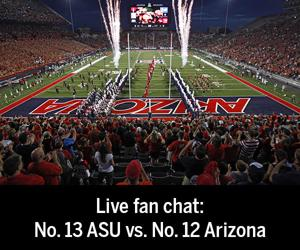 Transcript: UA beats ASU fan chat and celebration