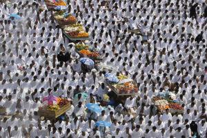 Los musulmanes comienzan peregrinación a la Meca