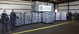 Massive pot shipment seized at Nogales