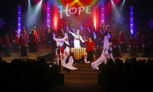 Holiday show with Broadway flair