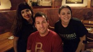 Wait, is that Adam Sandler at the Silver Saddle?