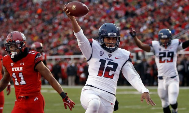 Photos: No. 15 Arizona 42, No. 20 Utah 10