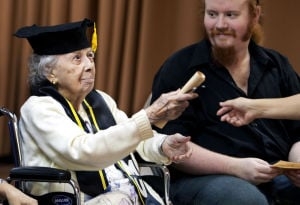Services for Tucson centenarian Mary Jo Stinnett are today
