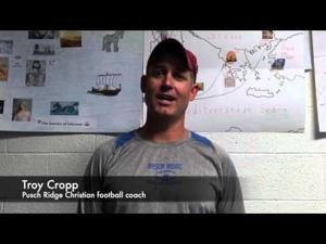 Watch: Coach Lovett talks postgame break dancing