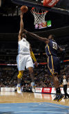 NBA Ex-Cat Iguodala steals win for Nuggets against Pacers