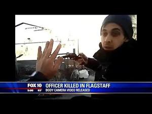 Police camera shows final moments before man killed Flagstaff officer