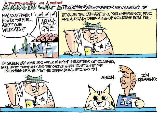 Daily Fitz Cartoon: Cats