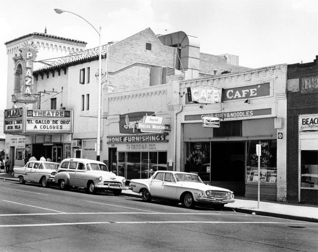 Downtown Tucson before redevelopment