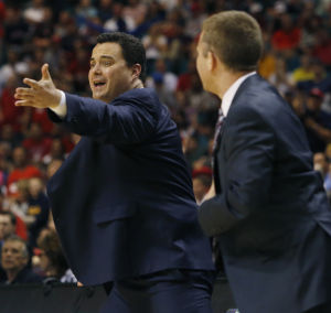 Arizona Wildcats video: Is this what got Sean Miller fined?