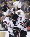 Stanley Cup Finals Blackhawks 6, Bruins 5, OT Chicago ties it up