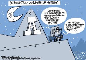 "Last Laugh ""A"" Mountain"