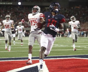 UA receiving corps helps Solomon's start