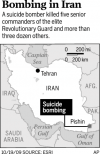 5 Revolutionary Guard commanders killed in Iran