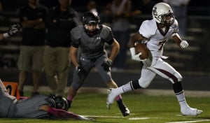 High school football photos: Salpointe 56, Mountain View 9
