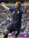 Spain, a favorite for gold, loses men's soccer opener