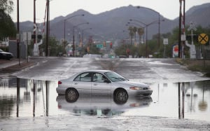 Photos: Storm hits Tucson's southside hard