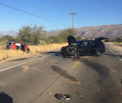Man Dies After Thursday Crash Involving Sahuarita Police
